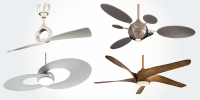 Modern Ceiling Fans Without Lights