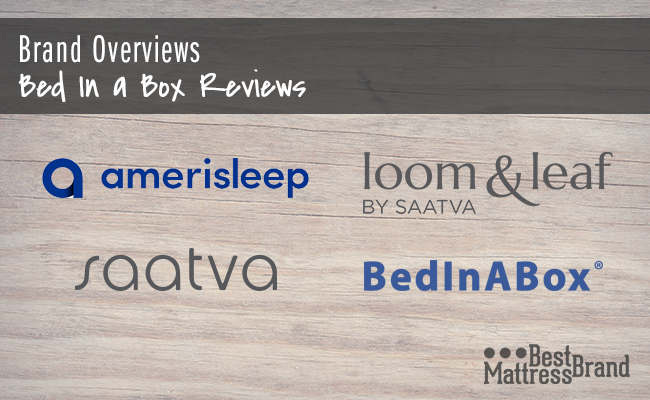 Bed in a Box Reviews Brand Comparison and Guide