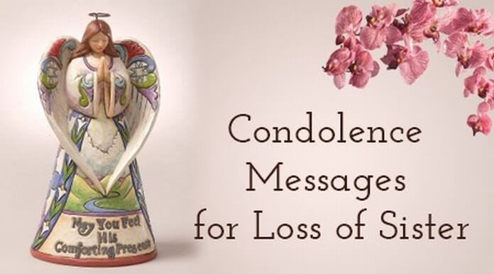 Condolence Messages for Loss of Sister Best Message - condolence messages