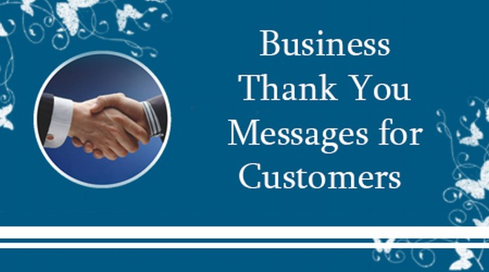 Business Thank You Messages for Customers