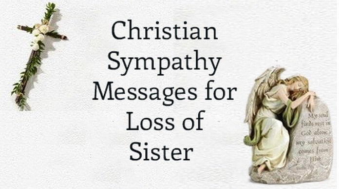 Christian Sympathy Messages for Loss of Sister