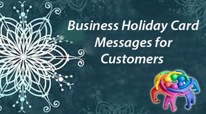 Business Holiday Card Messages for Customers