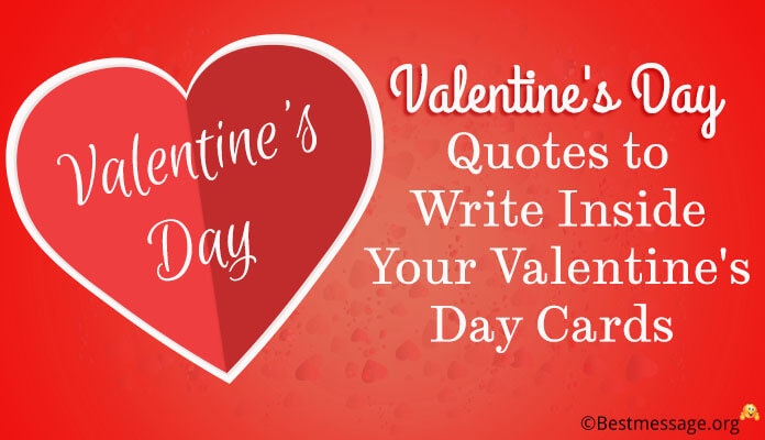 Valentine\u0027s Day Quotes to Write a Inside Your Valentine\u0027s Day Cards - valentines cards words