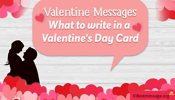 Valentine Messages 2019 What to write in a Valentine\u0027s Day card