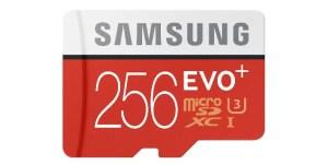 Samsung EVO Plus 256GB Micro SD Card
