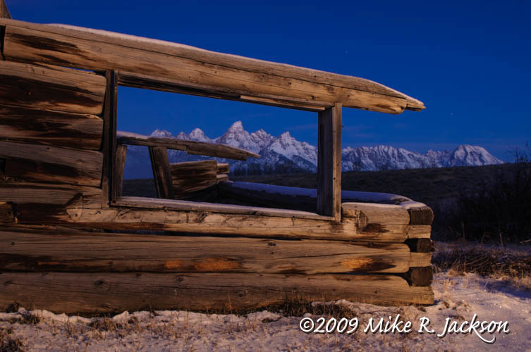Shane( the movie) Cabin. Grand Tetons | This was the