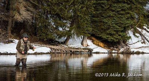 Pacific Creek Fishing April6