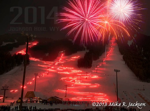 Web Torch Light Parade at Snow King 2014Text