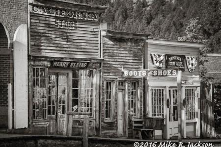 Montana's Virginia City and Nevada...