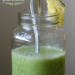 Super Smoothies :: Pineapple Green Smoothie