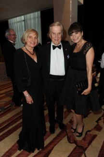 Nancy and Lloyd Robertson, Jeanne Beker | Photo: Tom Sandler