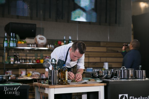 Adam Oliveira, The Spoke Club wins the Toronto Taste Chef Challenge