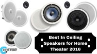 Best In-Ceiling Speakers for Home Theater in 2017