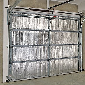 the garage door insulation kit designed by battic door energy reduces