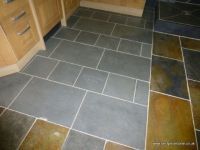 Brazilian Grey Green Natural slate floor and wall tile