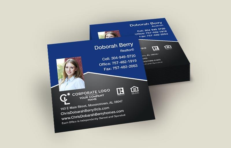 Coldwell Banker Square Business Cards, Approved Vendor, Online