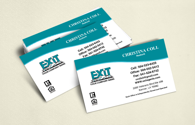 EXIT Realty Ultra Thick Business Cards, Approved Vendor, Online