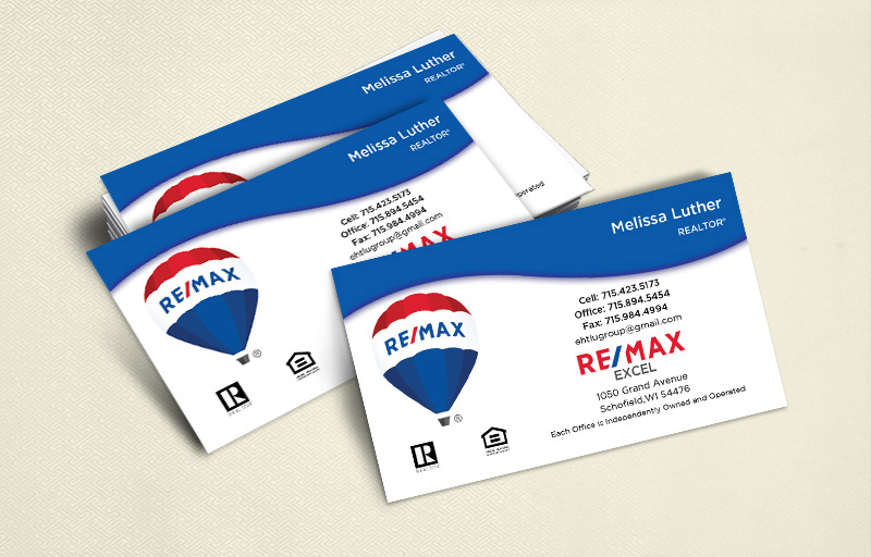 RE/MAX Ultra Thick Business Cards, Approved Vendor, Online Designs