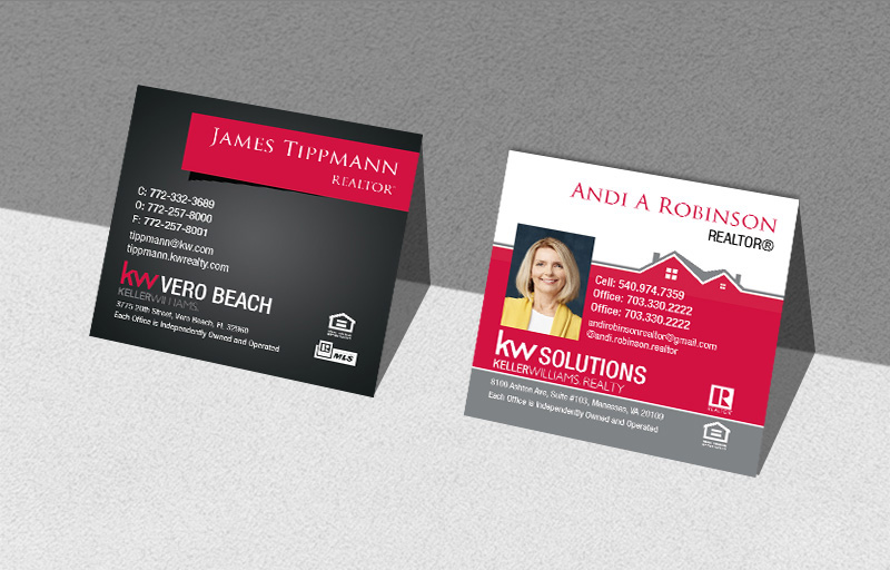 Keller Williams Real Estate Business Card Products