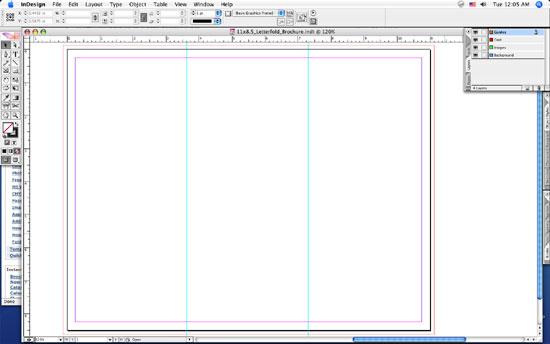 Brochure Printing Tips - blank tri fold brochure template