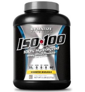 Dymatize Nutrition ISO 100, Smooth Banana