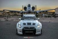 Nissan GT R mais agressivo com Body Kit Liberty Walk R35