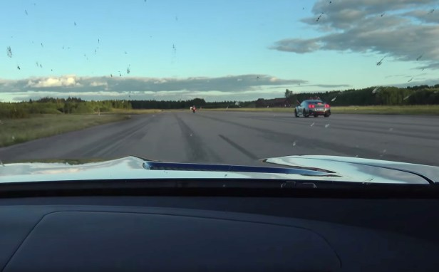 Nissan GT R Nismo VS Kawasaki Ninja H2 VS Mercedes AMG GT S Coupe