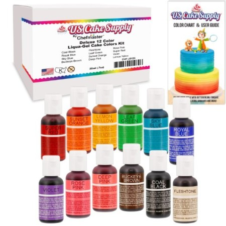 100+  Food Coloring Mixing Chart  Rainbow Progel Concentrated - food coloring chart