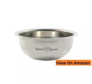 Edwin Jagger Contemporary Chrome Plated Shaving Soap Bowl