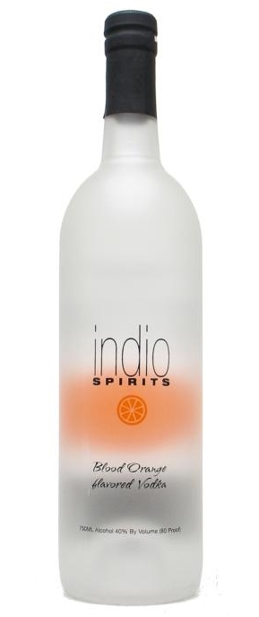 indio blood orange vodka was introduced in 2006 it is one of six vodka ...