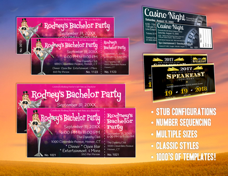 Stag Tickets - Best Ticket Printing