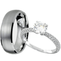 Couples Wedding Ring Sets - staruptalent.com