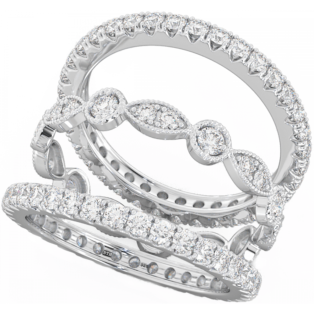 download filled in uncategorized title 3 piece wedding - 3 Piece Wedding Ring Sets
