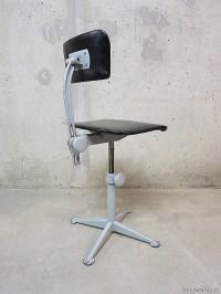 Vintage industrial desk chairs , vintage bureaustoelen ...