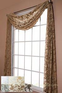 Window Treatment  Swag Window Treatments