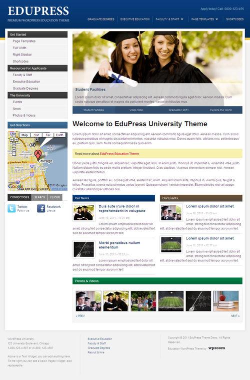 EduPress Best Education WordPress Theme Best WordPress Themes