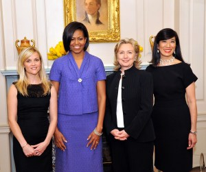 Picture of Reese Witherspoon, Michelle_Obama, Hillary Clinton and Andrea Jung (2010)