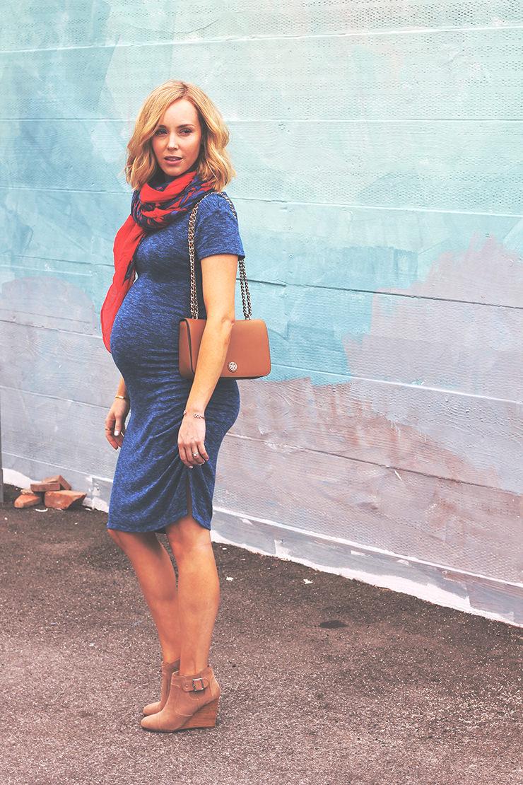 Maternity Christmas Dress