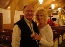 Mr. and Mrs. Pack -she wrote drama and plays lead role, he does God's voice and other roles