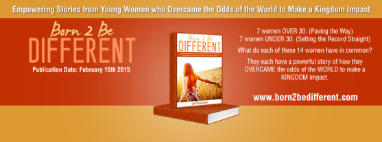 Born To Be Different book graphic