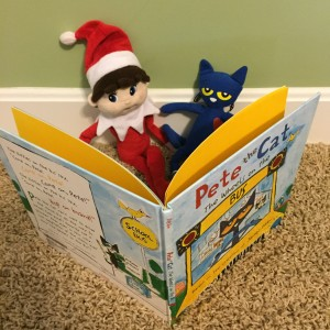 Silverbells reading with Pete the Cat