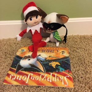Silverbells reading with Skippy Jon Jones