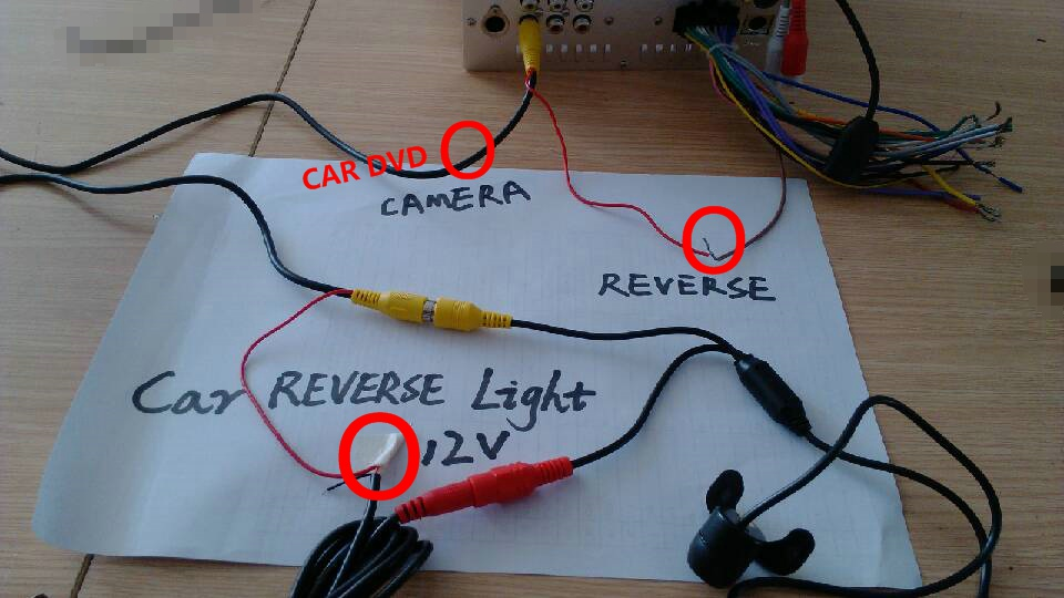 How To Wire Reverse Camera Pioneer Wiring Schematic Diagram