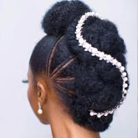 41 Wedding Hairstyles for Black Women To Drool Over 2018
