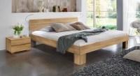Massivholzbett Lucca Komfort als Einzel- oder Doppelbett