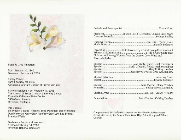 Doc Funeral Program Format Template 79 best images about – Sample of Funeral Programs