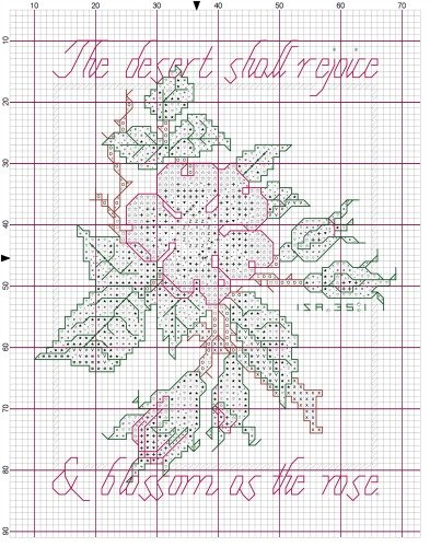 Cross Stitch Graph Paper - making graph paper in word