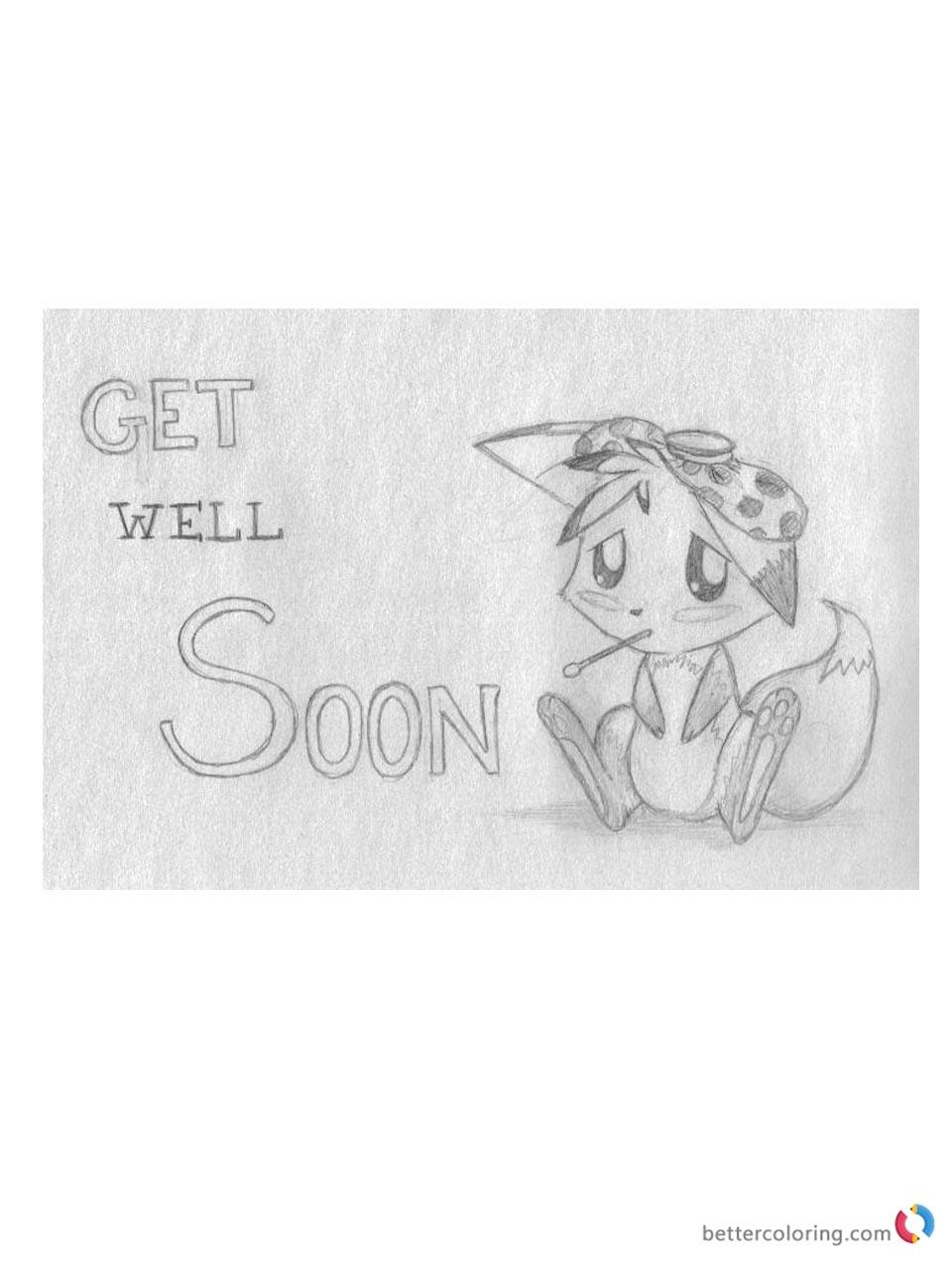 Fullsize Of Get Well Soon Cute