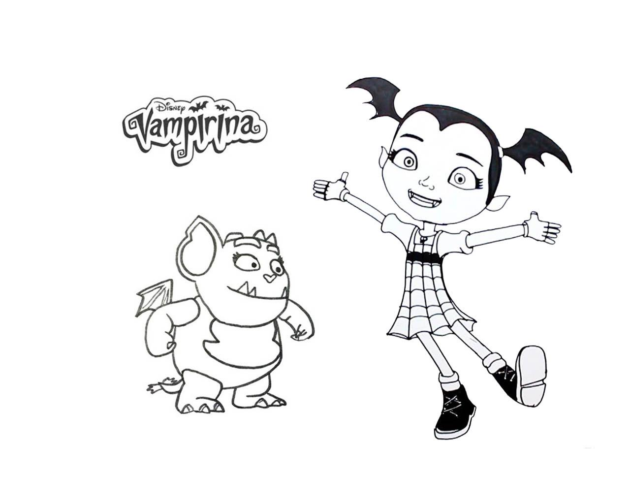 Dibujos De Vampirina Para Colorear