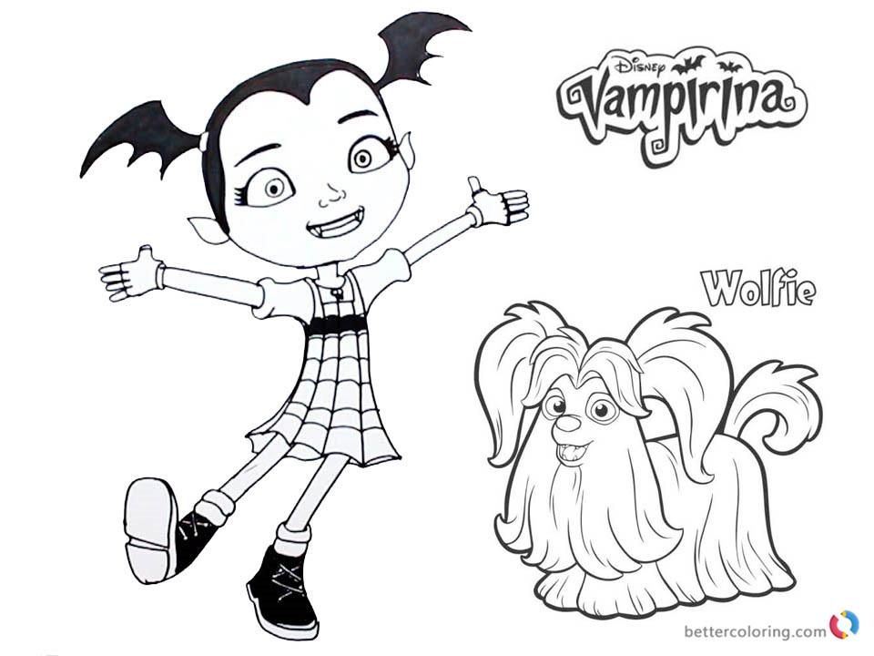 Comfortable Disegni Di Vampirina Da Colorare Ofertasvuelo